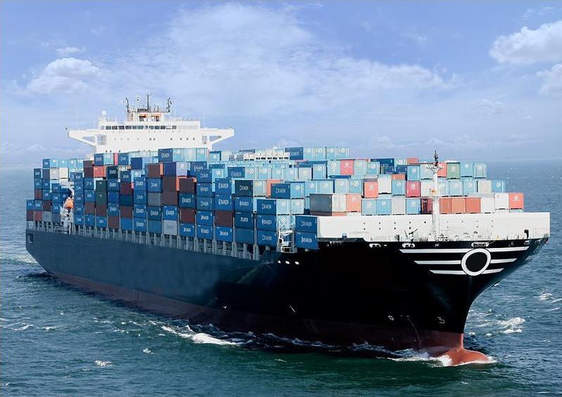 طلب نقل البضائع بالبحر