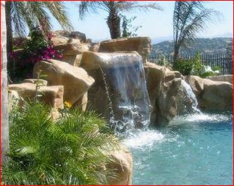 Order Manufacturing of decorative waterfalls