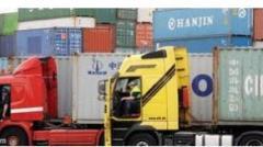 نقل البضائع من مصر لاالمانيا