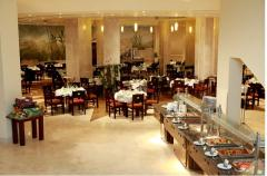 Services of restaurant and hotel