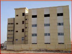 عملية انشاء و تشطيب مبنى دار المغتربات