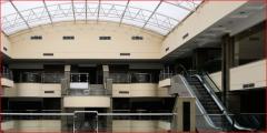 المركز التجاري والإداري