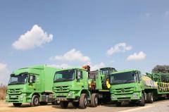 Co-branded trucks
