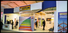 Exceptional presence of jotun egypt at le marche