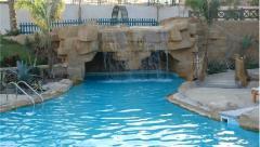 Maintenance of decorative waterfalls