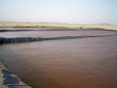 فى بعض الاماكن عند استخراج المياه الجوفية وجد ان