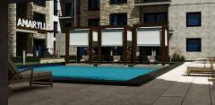 ديكور حمامات السباحة و اماكن الاستجمام داخل مدينة