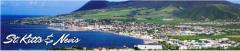سان كيتس ونيفيس جزر هي التوأم تقع في القسم الشمالي