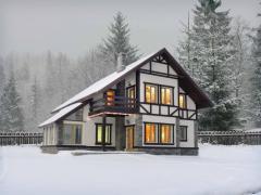 بناء منازل سكنية