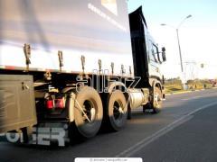 Combined cargo transportation