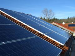 الطاقة الشمسية هي الضوء والحرارة المنبعثان من