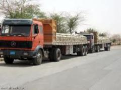 Hire of flatbed trucks