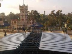 تغطية بابراج شيراتون المنتزه
