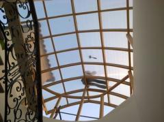 تغطيه سقف اسانسير بفيلا بمنتجع الربوة بالشيخ زايد
