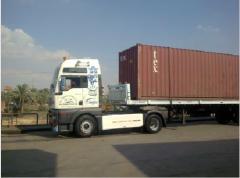 خدمات النقل والتوريدات