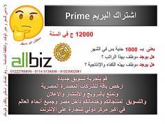 Prime package تصدير جميع المنتجات المصرية