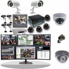 كاميرات مراقبة واجهزة انذار