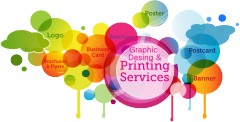 Design of advertising printing