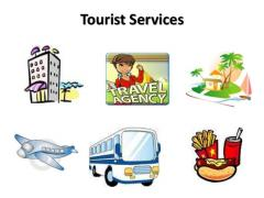 Touristic services during exhibitions
