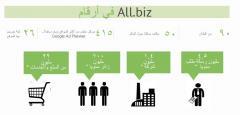 Allbiz in numbers