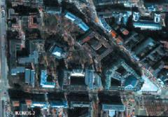 Satellite image and map production