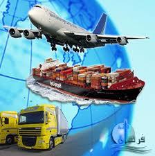 المدفوعات لنقل البضائع