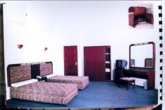 غرفة نوم للفنادق.