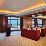 Business center in hotel