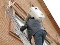 تركيب أنظمة تكييف الهواء