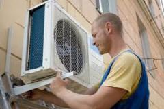 إصلاح أجهزة تكييف الهواء الصناعية