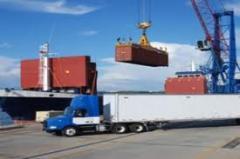 نقل البضائع والحاويات