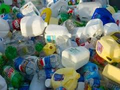 مخالفات البلاستك قبل التدوير