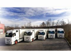 خدمات نقل الشحنات و أعمال التحميل و التفريغ