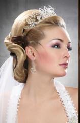 ماكياج وتسريحة عروس
