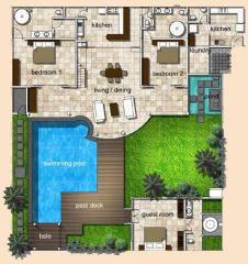 مخطط شقة