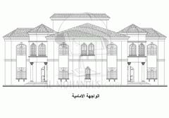 تصميمات هندسية الواجهة الامامية