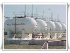 انشاء و بناء محطات الغاز