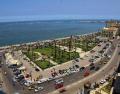 المنظر العام للبحر من الفندق