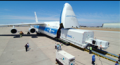 Air freight transport-logistical services